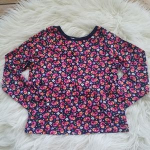 Hanna Andersson Floral Paisley Long Sleeve Shirt